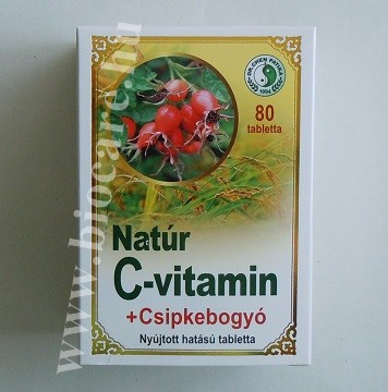 C-vitamin csipkebogyóval