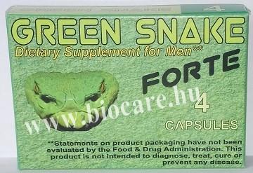 Green snake kapszula