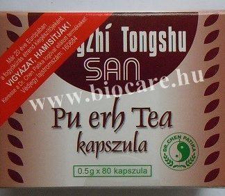pu erh tea kapszula