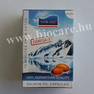 Nor-oil lazacolaj kapszula