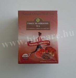 Big Star három gomba tea filteres