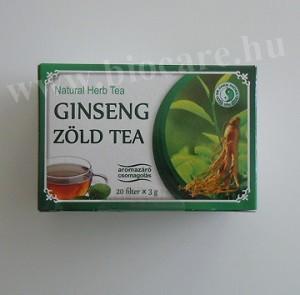 Ginseng zöld tea - Dr. Chen