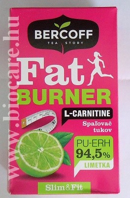 fat burner tea l-karnitinnal