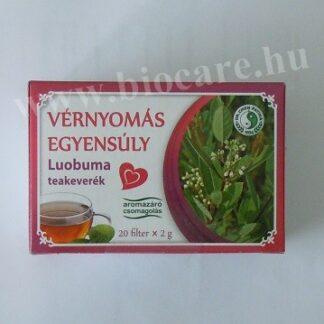 vérnyomás egyensúly luobuma tea