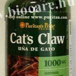 Cat's claw macskakarom tabletta - Puritan's
