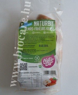 naturbit almás-fahéjas keksz