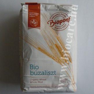 Biopont bio teljes kiőrlésű búzaliszt