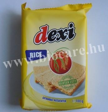 Extrudált rizskenyér