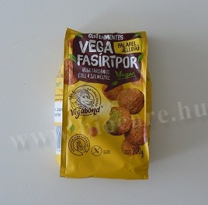 Falafel jellegű vega fasírtpor - Vegabond