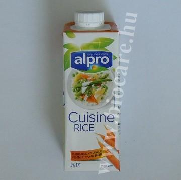 alpro rizs főzőkrém