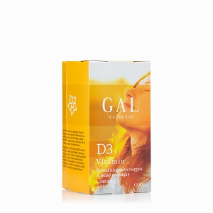 GAL D3-vitamin cseppek