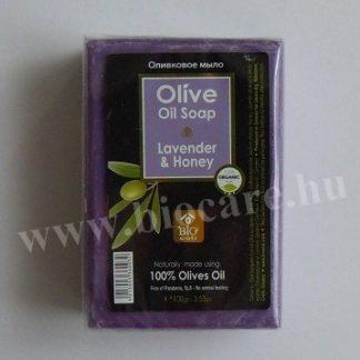 Görög oliva szappan mézzel és levendulával