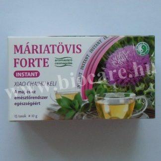 instant máriatövis forte tea