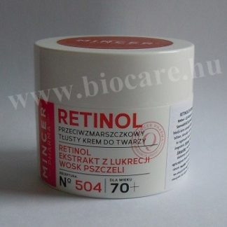 Retinol arckrém 70 +