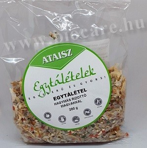Ataisz hagymás rizottó magvakkal és zöldségekkel