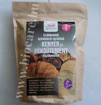 Szafi csökkentett szénhidrát-tartalmú kenyérliszt