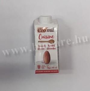 Ecomil bio cukormentes mandula krém