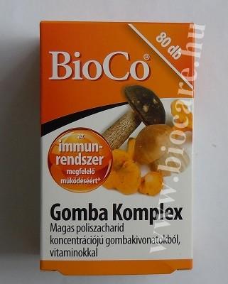 Gomba komplex tabletta