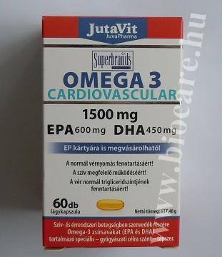 Cardiovascular omega 3
