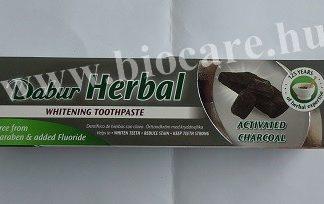 fogkrém aktív szénnel