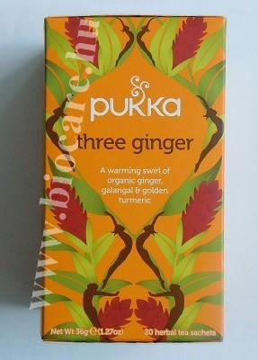 Pukka három gyömbér tea