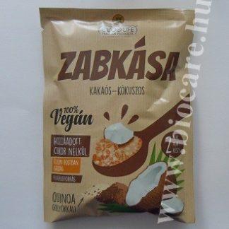 cukormentes kakaós kókuszos zabkása