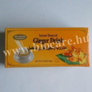 instant gyömbér tea mézes