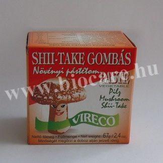 shii-take gombás növényi pástétom