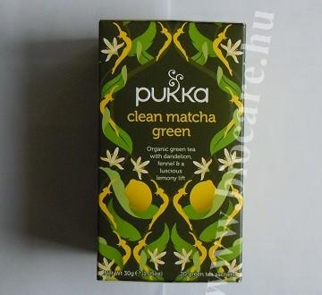 Pukka Matcha zöld tea citrommal