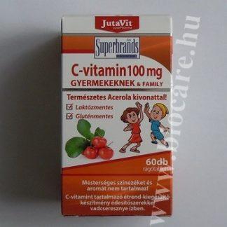 C-vitamin rágótabletta gyerekeknek