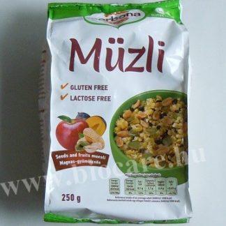 gluténmentes magvas gyümölcsös müzli