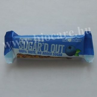 cukormentes áfonyás zabszelet