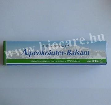 Lacure Alpesi gyógynövény balzsam