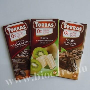 Torras gluténmentes csokoládé