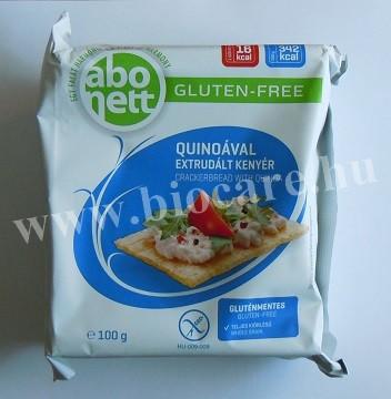 Abonett quinoával extrudált kenyér