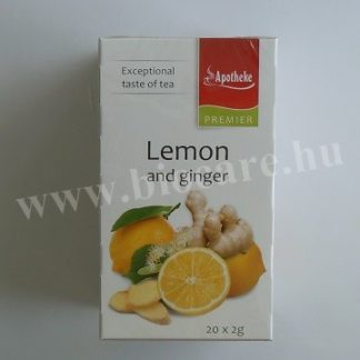 Apotheke gyömbér tea citrommal