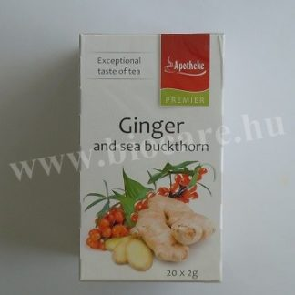 Apotheke gyömbér tea homoktövissel