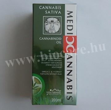 Cannabinoid olaj