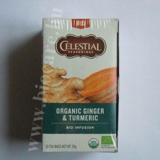 bio gyömbér fahéj kurkuma tea