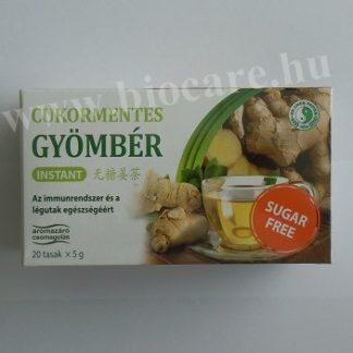cukormentesinstant gyömbér tea