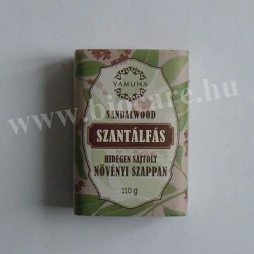 Yamuna szantálfás hidegen sajtolt szappan