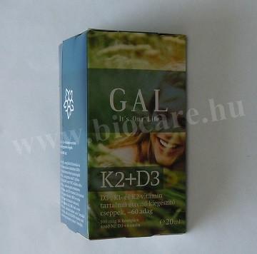 GAL K2 + D3