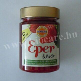eper lekvár édesítőszerrel