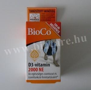 Bioco D3-vitamin 2000 NE