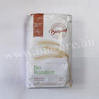 Biopont bio teljes kiőrlésű rozsliszt (