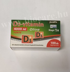 Jutavit Oliva D3-vitamin